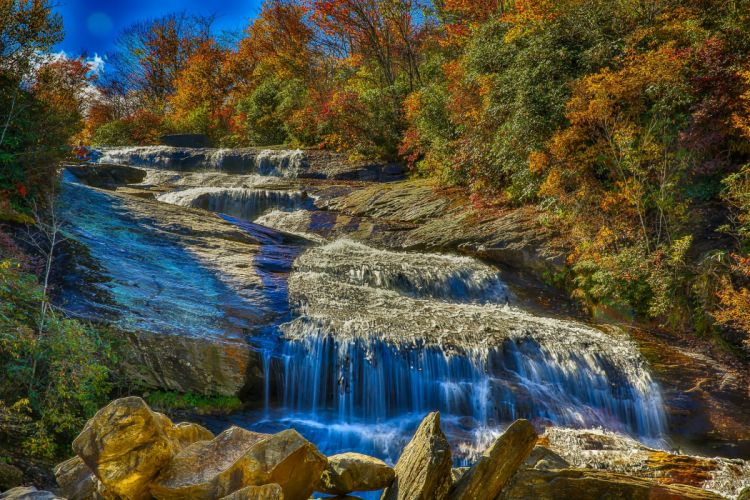 Waterfalls Nature wallpaper