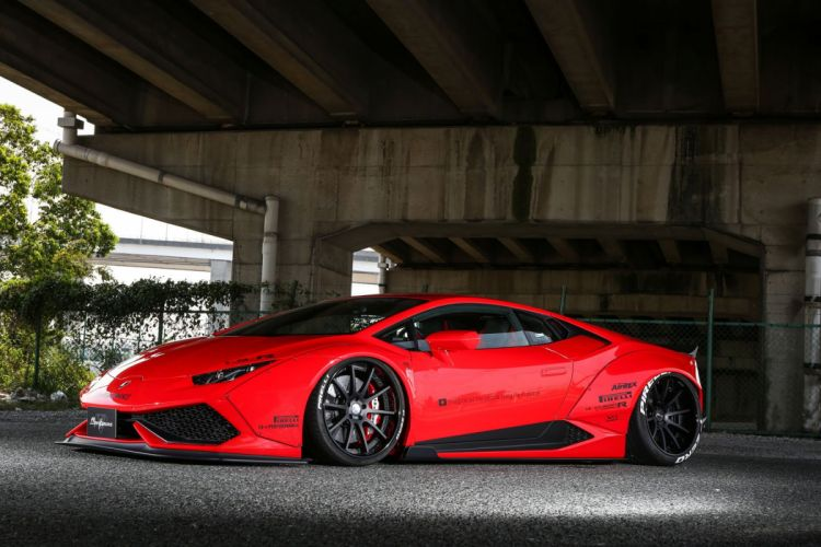 Liberty Walk 2016 Lamborghini Huracan cars bodykit modified wallpaper