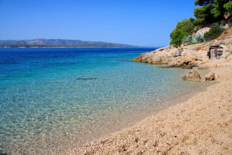 Croatia Coast Sea Nature wallpaper