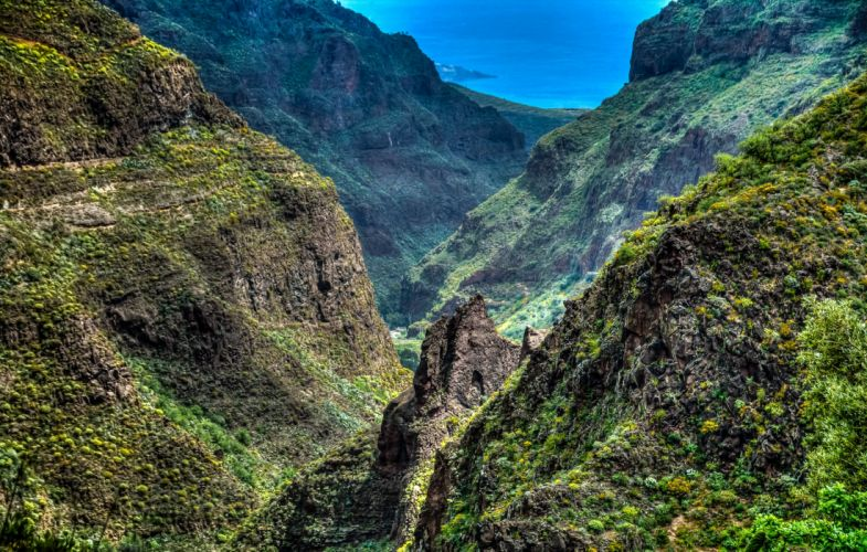 Spain Mountains HDR Tenisa Canary Islands Nature wallpaper