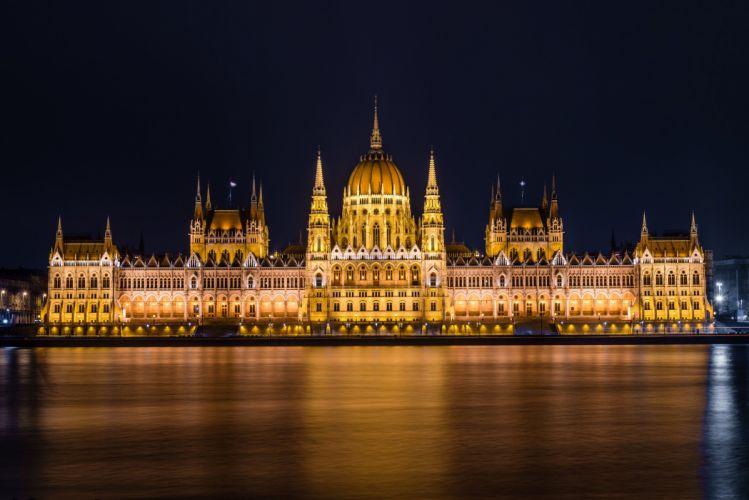 palacio congreso hungria budapest wallpaper