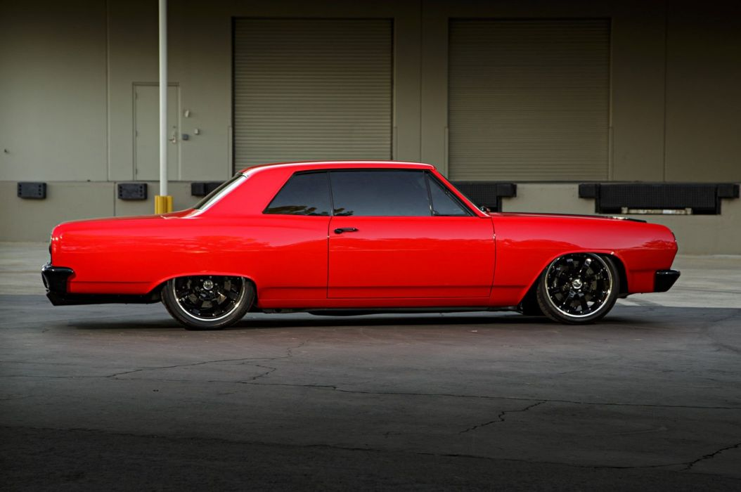 1965 Chevrolet Chevelle red classic cars modified wallpaper