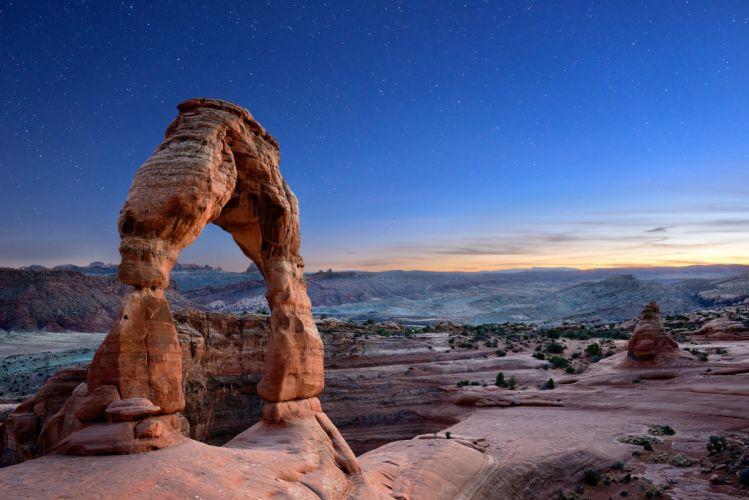 Sky USA Delicate Arch Nature wallpaper