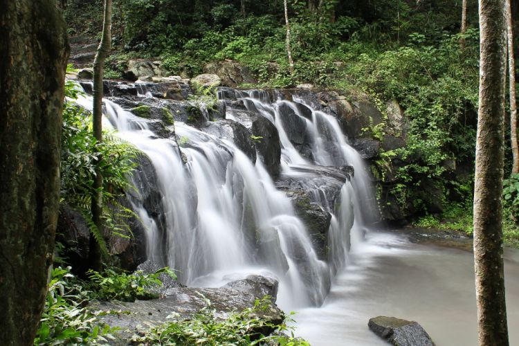 Thailand Parks Waterfalls Namtok Samlan National Park Saraburi Nature wallpaper