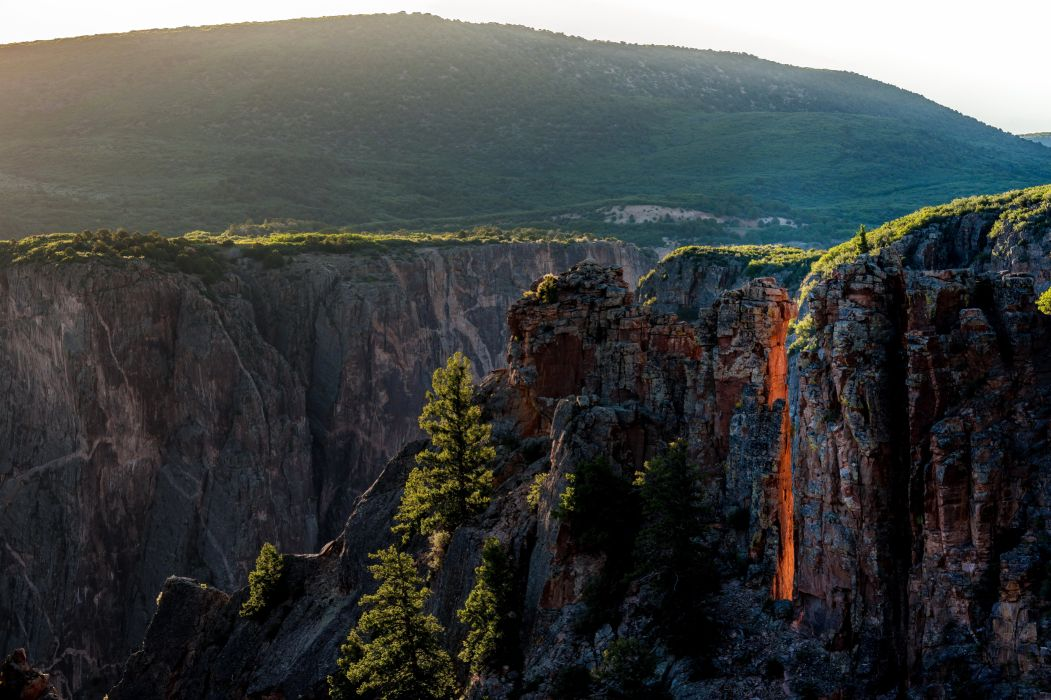 USA Parks Canyon Black Canyon Gunnison National Park Colorado Nature wallpaper