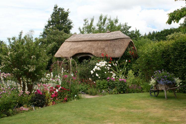 England Shrubs Grass Rosemoor Gardens Devon Nature wallpaper