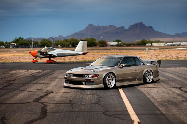1989 Nissan 240SX cars modified wallpaper