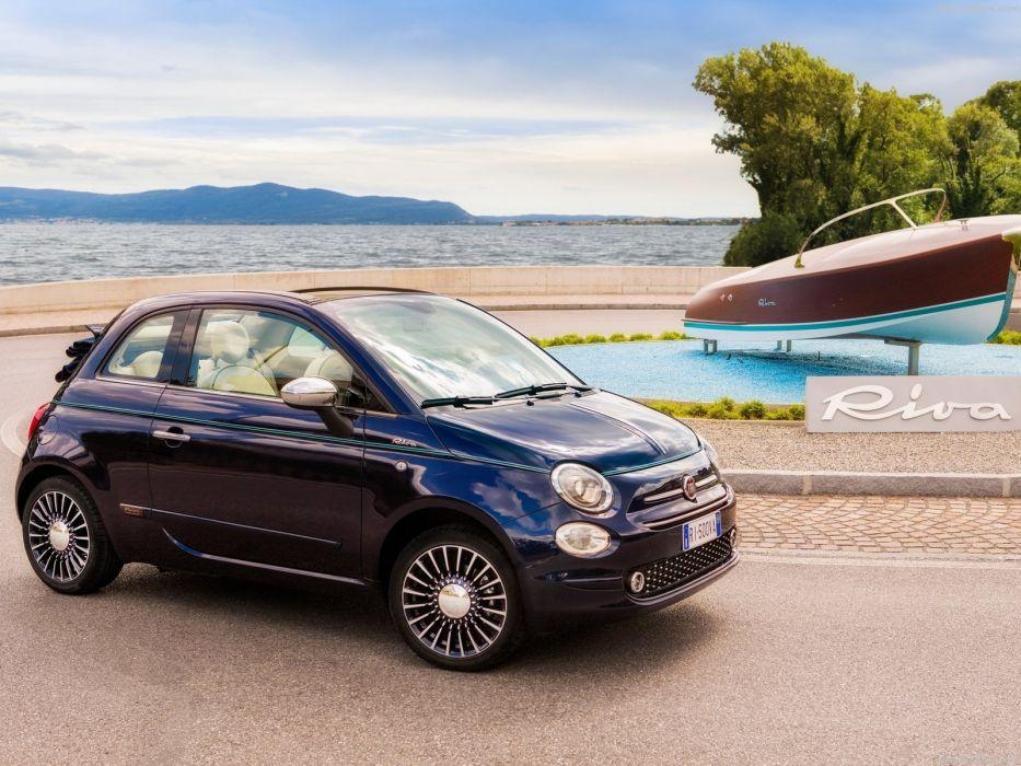 Fiat 500 Riva cars wallpaper