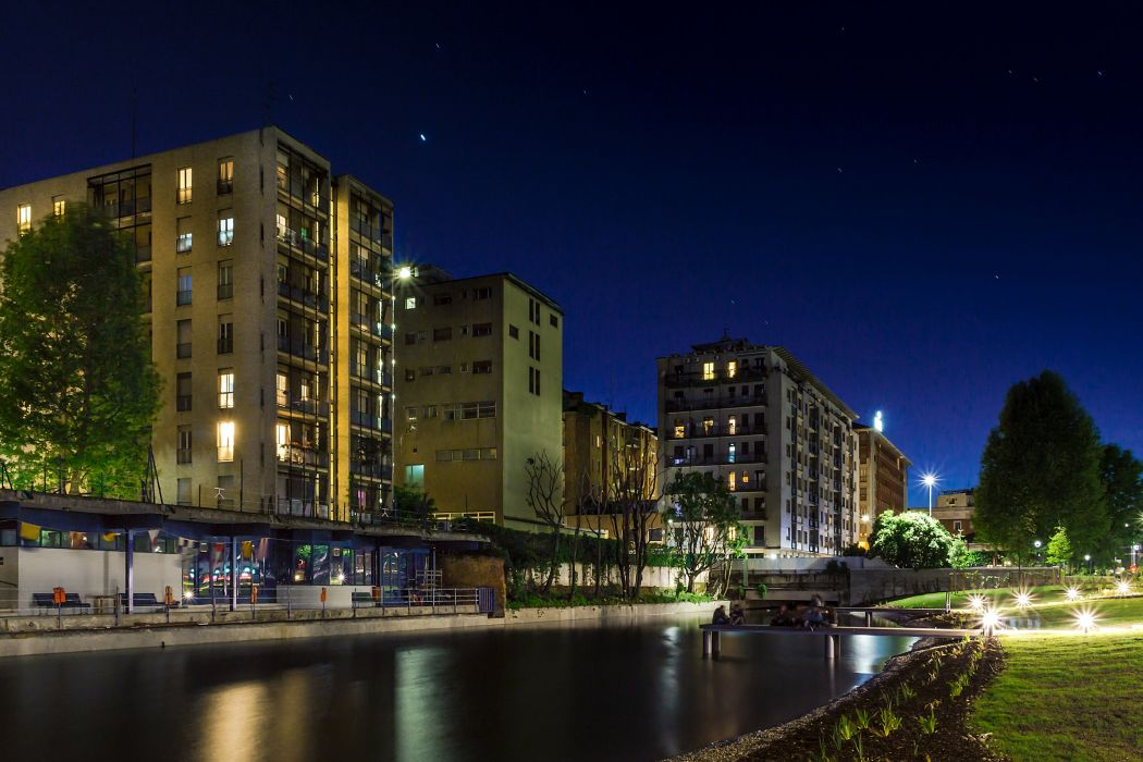 taly Houses Night Street lights Minori Costiera Amalfitana Cities wallpaper