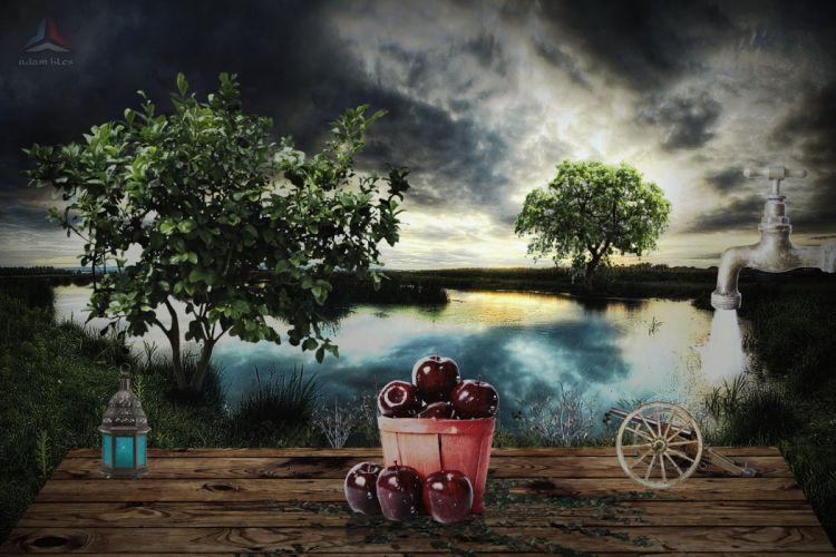 ed apples wallpaper