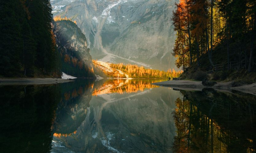 lago naturaleza montay wallpaper