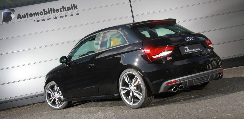 Audi S1 cars black modified wallpaper