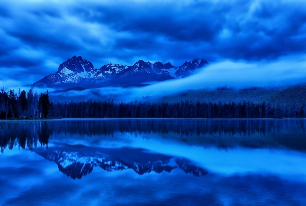 sky mountains glaciers lakes ice wallpaper