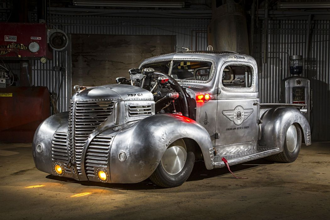Plymouth Pickup truck modified wallpaper