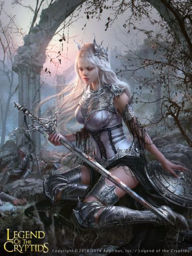 legend queen fantasy girl woman sword magic beauty wallpaper