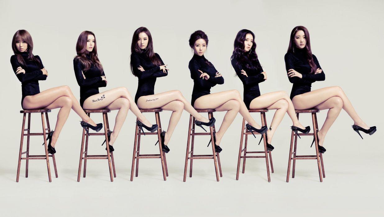 sian Legs Dal Shabet Music Girls wallpaper