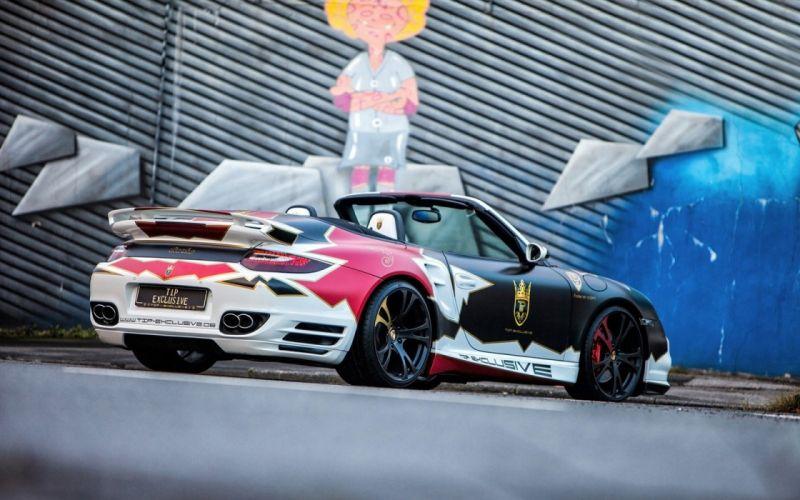 TIP Exclusive Porsche 911 Turbo Convertible cars modified wallpaper