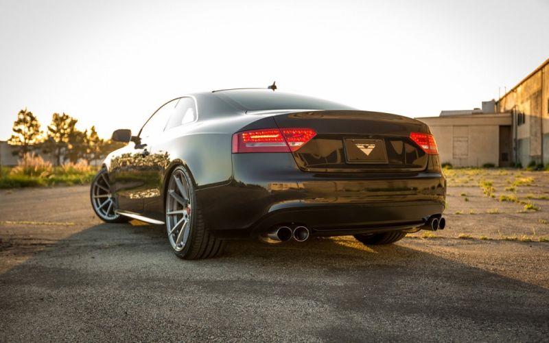 Vorsteiner Audi S5 cars coupe black modified wallpaper