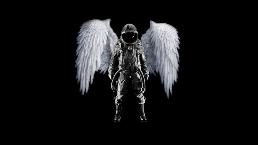 he Angel Astronaut h wallpaper