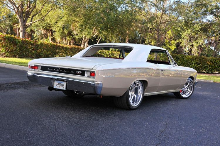 chevrolet chevelle ivory cars modified engine wallpaper