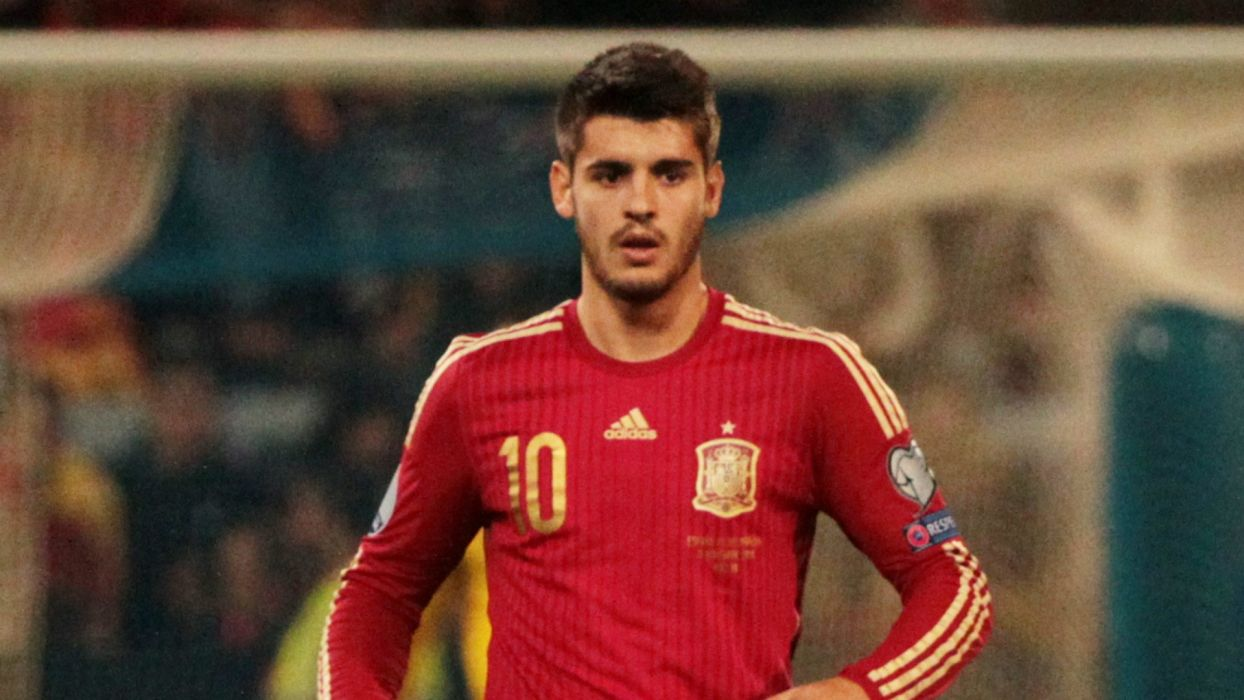 alvaro morata futbolista espay wallpaper