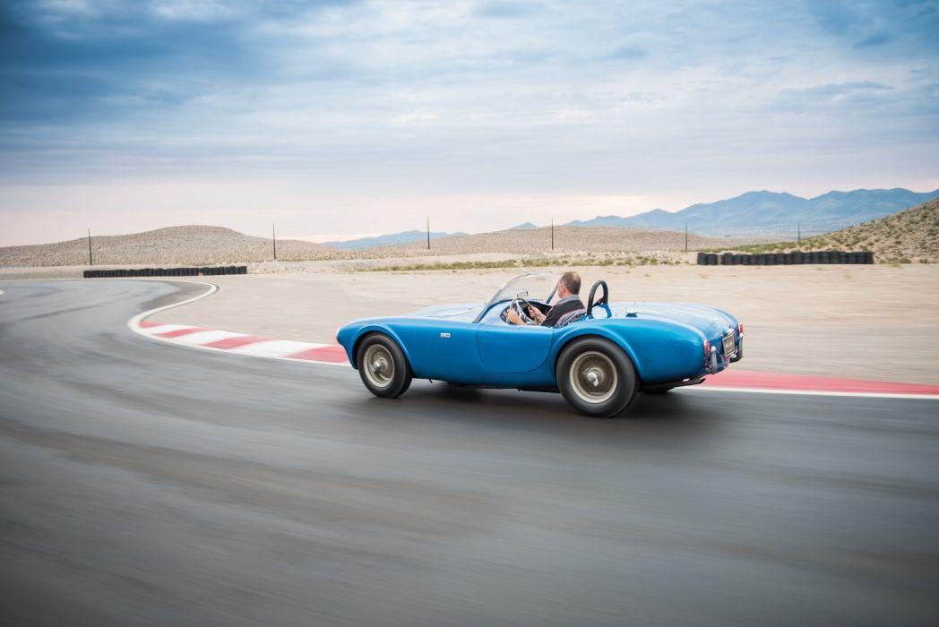 shelby cobra 260 prototype 1962 blue wallpaper