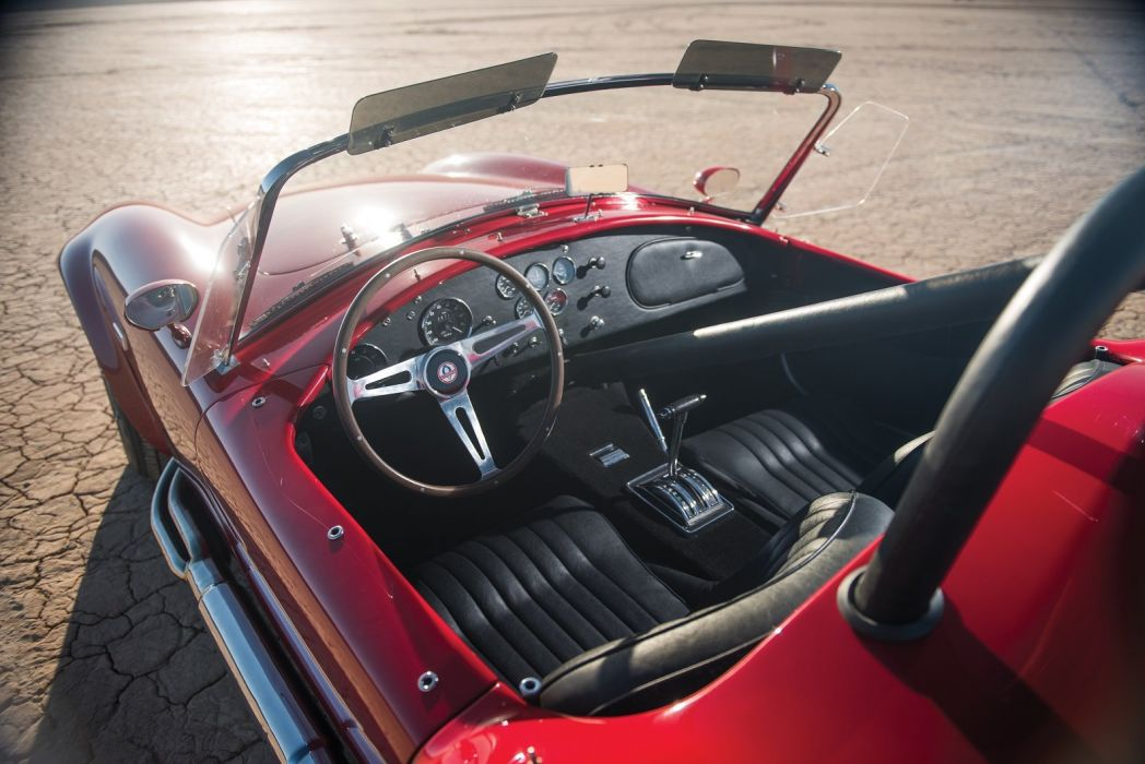1965 Shelby Cobra 427 cars classic red interior wallpaper