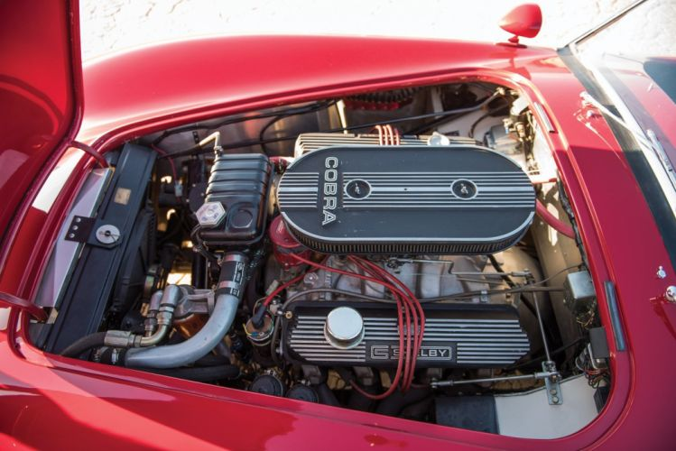 1965 Shelby Cobra 427 cars classic red engine wallpaper