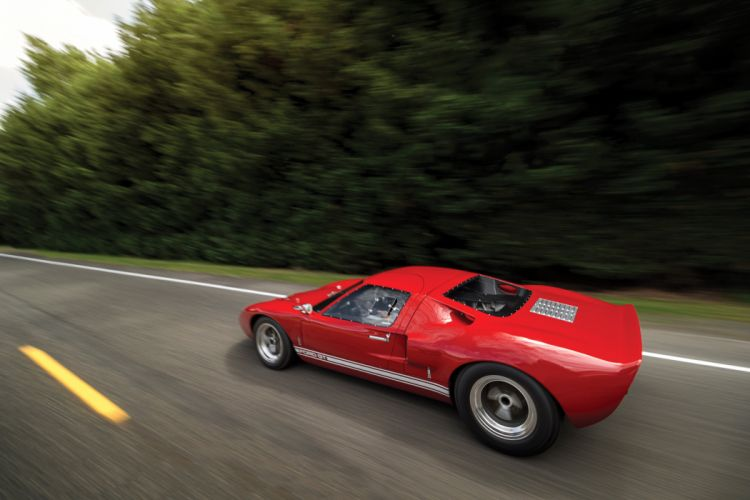 Ford GT40 Road Version cars red 1966 wallpaper