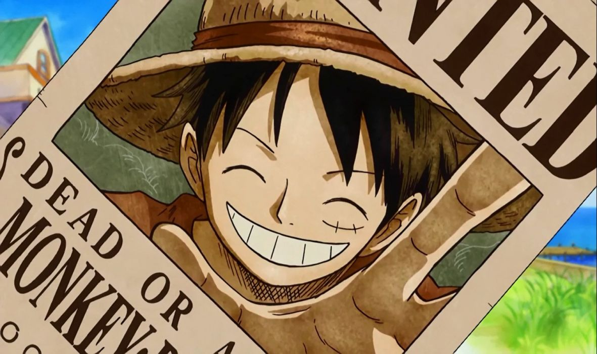 Luffy Wanted (One Piece) wallpaper