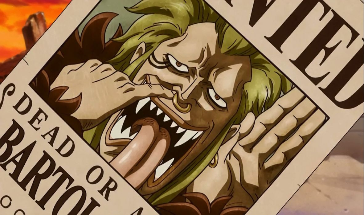 Bartolomeo Wanted (One Piece) wallpaper