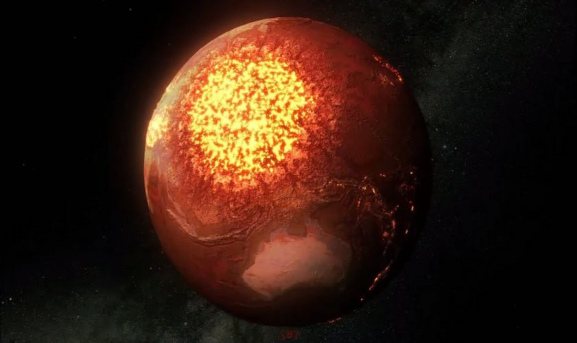 Earth Destroyed wallpaper