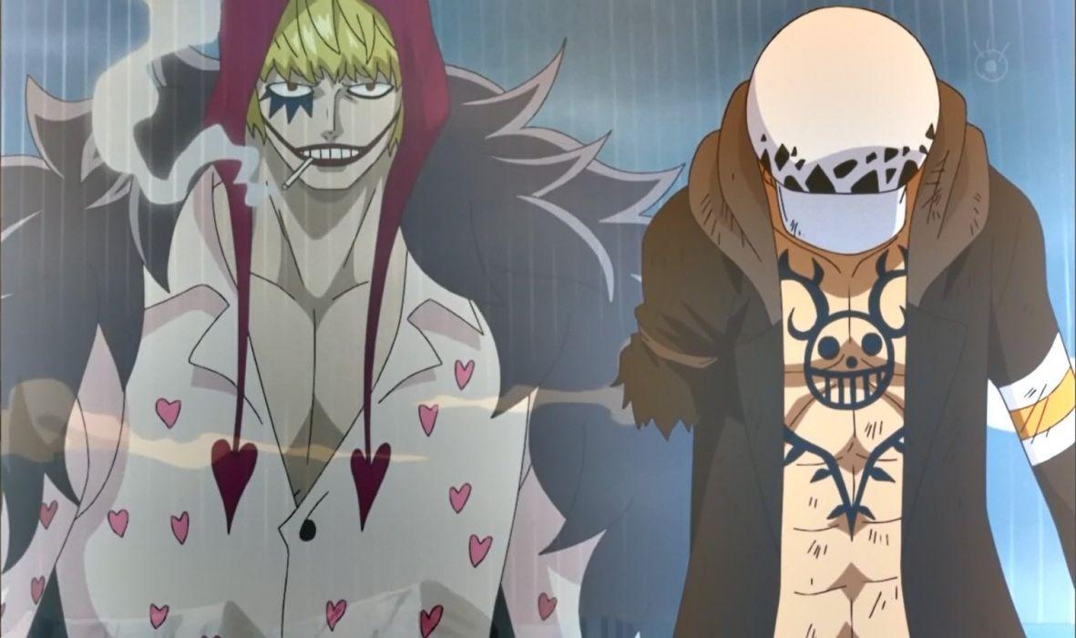 Law & Corasan (One Piece) wallpaper