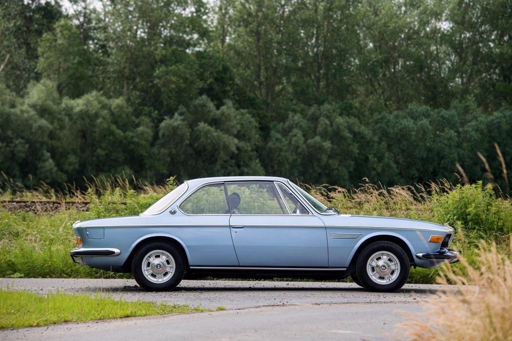 Bmw 3 0 Csi E9 Cars Coupe Blue 1971 Wallpaper 1584x1056