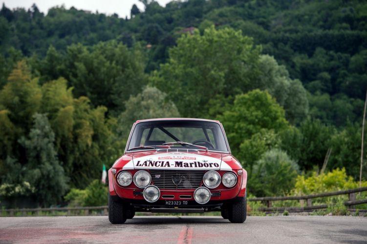 Lancia Fulvia Coupe 1600-HF Corsa (818) rally cars 1970 wallpaper