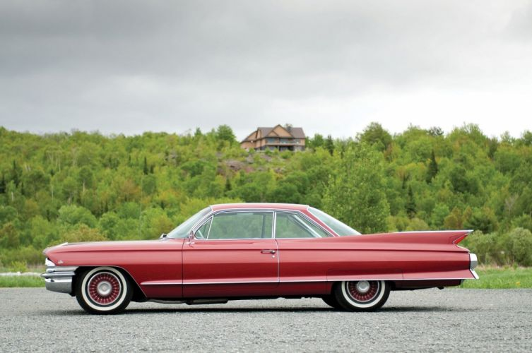 1961 Cadillac Sixty-Two Coupe de Ville cars wallpaper
