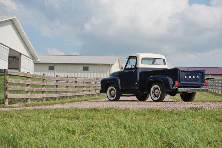 1954 Ford F-100 pickup truck wallpaper