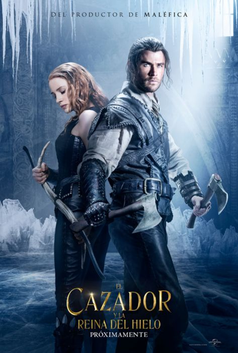 el cazador y la dama de hielo pelicula fantasia ciencia ficcion wallpaper