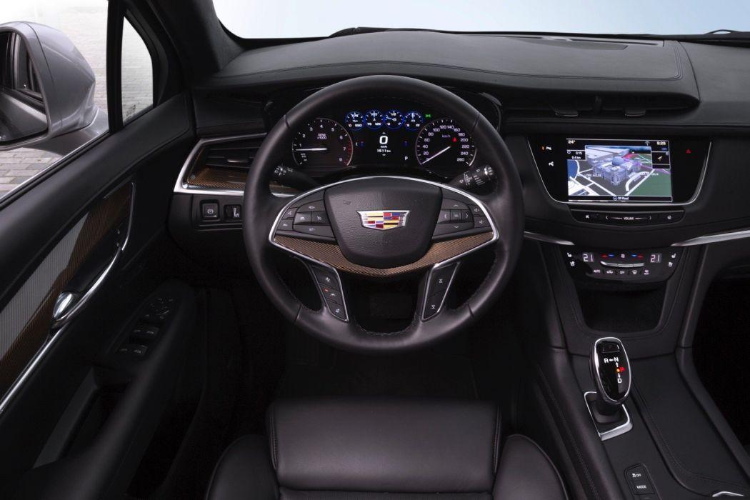 Cadillac XT5 cars suv 2016 interior wallpaper