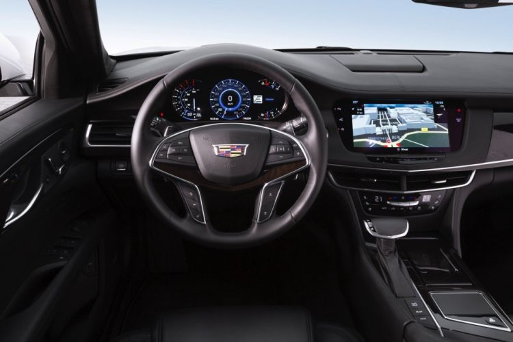 Cadillac CT6 cars sedan 2016 interior white wallpaper