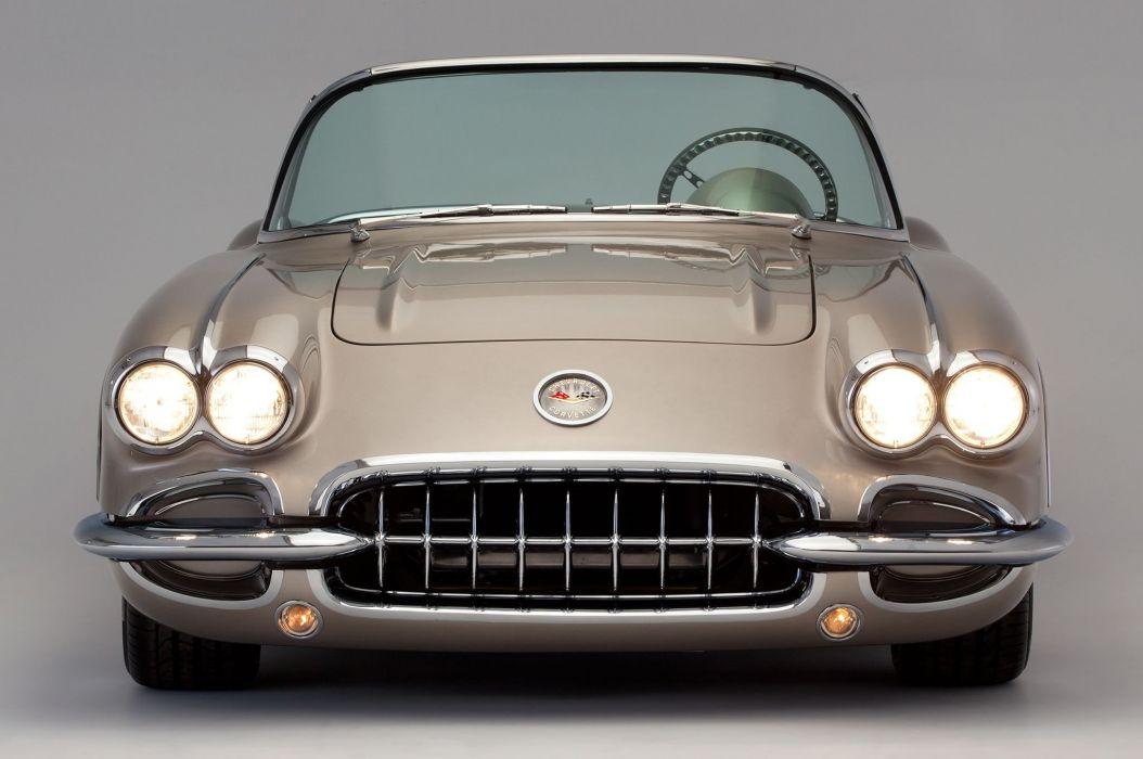 Pro Touring 1959 Chevrolet Corvette (c1) cars modified wallpaper