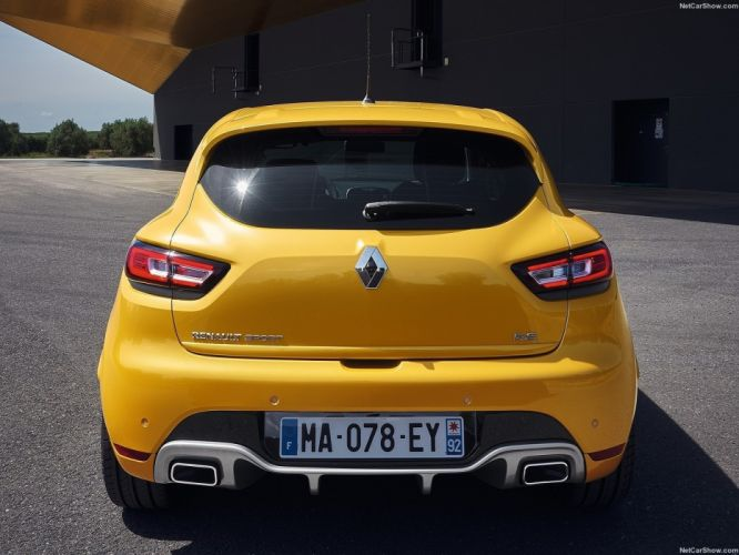 Renault Clio RS cars french 2016 wallpaper