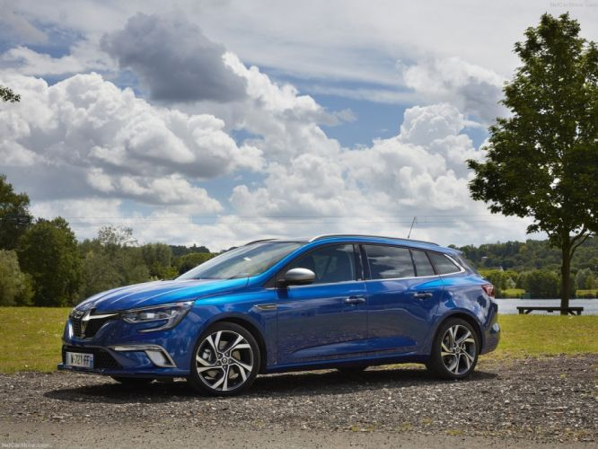 Renault Megane Estate cars wagon 2016 french wallpaper