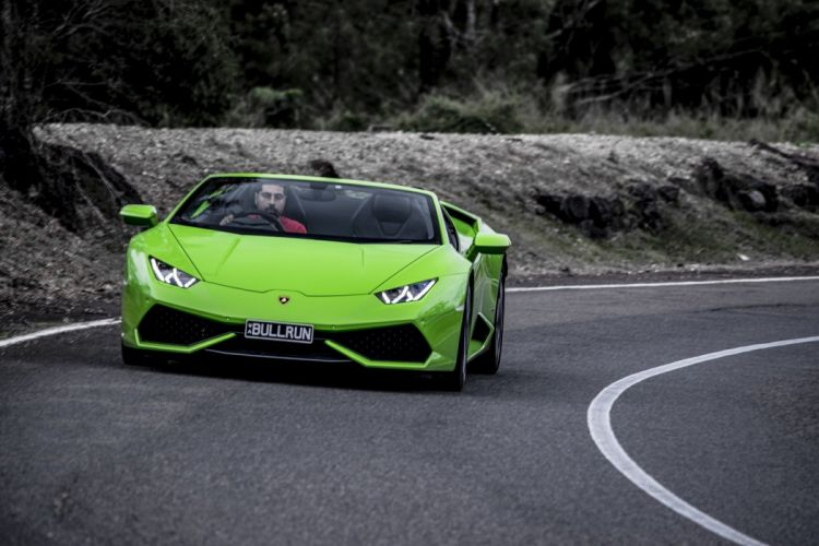 Lamborghini Huracan LP 610-4 Spyder AU-spec cars green 2016 wallpaper