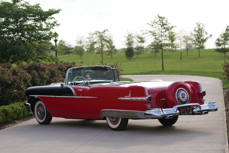 1956 Pontiac Star Chief Convertible cars classic wallpaper