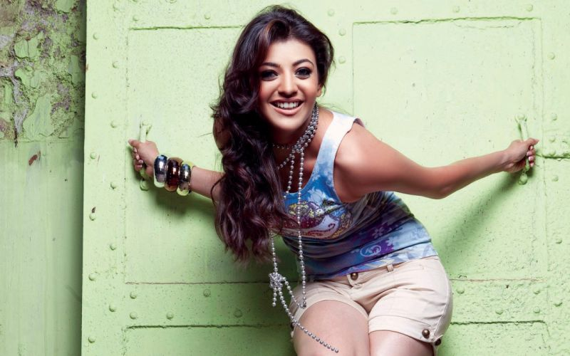 kajal agarwal bollywood actress model girl beautiful brunette pretty cute beauty sexy hot pose face eyes hair lips smile figure indian wallpaper