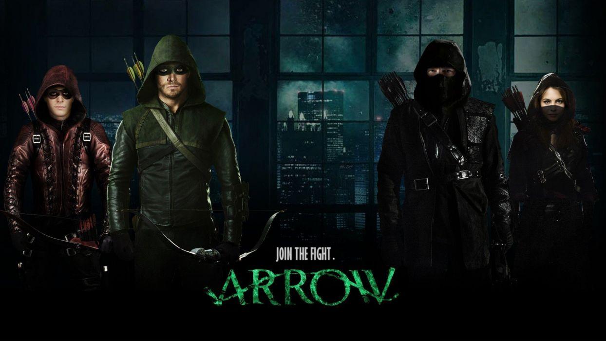 arrow serie tv aventuras wallpaper