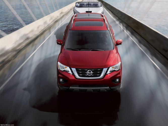 Nissan Pathfinder 2016 cars 4wd 4x4 wallpaper