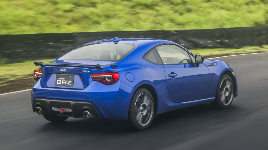 Subaru BRZ cars coupe 2016 blue wallpaper
