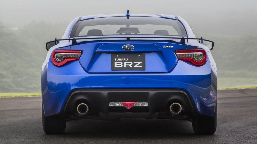 Subaru BRZ cars coupe 2016 blue wallpaper